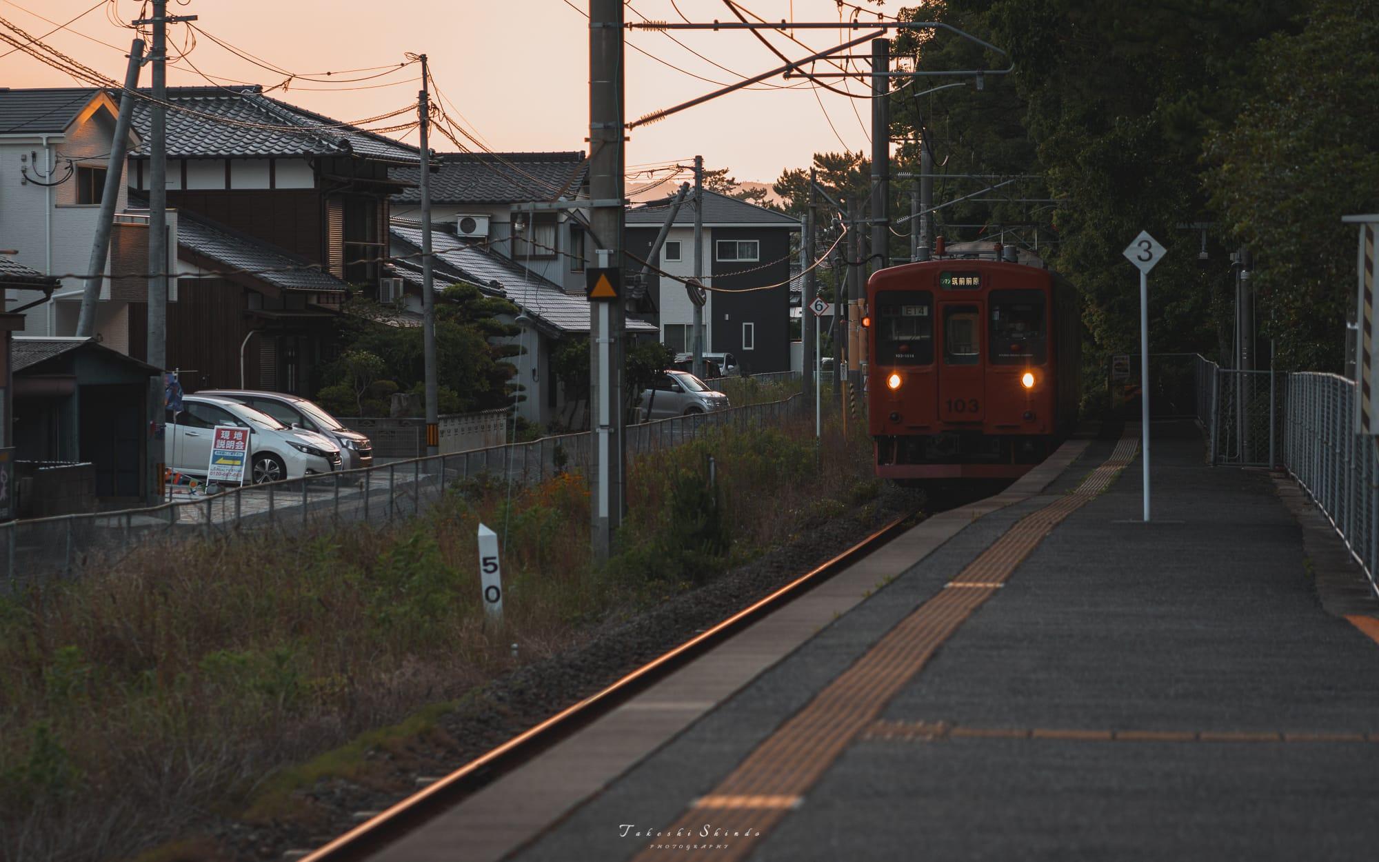 虹の松原駅